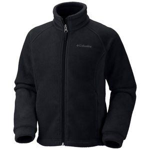 new Columbia Girl Benton Spring Fleece Jacket 6/6x
